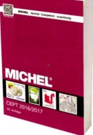 CEPT MlCHEL Briefmarken Katalog 2017 Nouve 58€ EUROPA-Rat Vorläufer Mitläufer NATO EFTA KSZE Symphatie Catalogue Germany - Phonecards