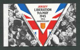 JERSEY - 1995 - CARNET DE PRESTIGE C689 NEUF** LUXE / MNH - Libération Et Fin De WW2 - Jersey