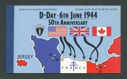 JERSEY - 1994 - CARNET DE PRESTIGE C653 NEUF** LUXE / MNH - D-Day - Jersey