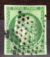 Cérès N° 2b Avec Oblitèration Etoile Avec Très Belle Marges à -15% De La Cote  Etat Bien Voir TB - 1849-1850 Ceres