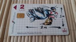 Letland Phonecard    Rare
