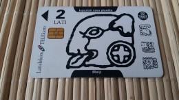 Letland Phonecard    Rare - Latvia