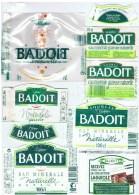 ETIQUETTES-EAU DE BADOIT-2 SCANS- - Etiketten