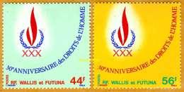 Wallis Et Futuna **LUXE 1978 P 224 Et 225 Paire - Ongebruikt