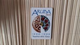 Prepaidcard Aruba Oly 80.000 Made Used Rare - Aruba