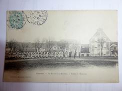 CPA  28 - Chartres - Le Marché Aux Moutons - Soldats à L'exercice - 1906 - Animée - Chartres