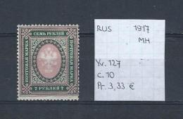 USSR 1917 - YT 127 Postfris Met Plakker/neuf Avec Charnière/MH - Unused Stamps