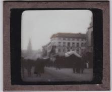 BRASSERIE DE BORNHEM - Photographie Sur Plaque De Verre - Dim: 10X8.5cm -  *RARE* - Plaques De Verre