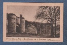 22 CÔTES D'ARMOR - IMAGE LA QUINTONINE - DINAN ( C.-du-N. ) - LE CHÂTEAU DE LA DUCHESSE ANNE - HELIO COMBIER MACON - Cromo