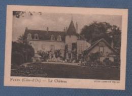 21 CÔTE D'OR - IMAGE LA QUINTONINE - FIXIN - LE CHÂTEAU - HELIO COMBIER MACON - Cromo