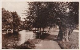 BEDFORD -  RIVER WALK @ BOATING LAKE - Bedford