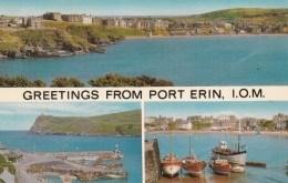 PORT ERIN, I.O.M.. MULTI VIEW - Isle Of Man