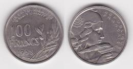 100 FRANCS COCHET 1958 B En Cupro-nickel  (voir Scan) - N. 100 Francs
