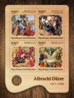 CENTRAL AFRICA 2016 - A. Durer, Donkey. Official Issue