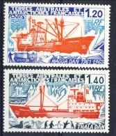 TAAF 1977 Serie N. 66-69 Navi MNH Catalogo € 7,60 - Terre Australi E Antartiche Francesi (TAAF)