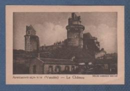 85 VENDEE - IMAGE LA QUINTONINE - APREMONT SUR VIE - LE CHÂTEAU - HELIO COMBIER MACON - Cromo