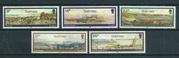 1985 Guernsey Complete Set P.Naftel,landscapes MNH/Postfris/Neuf Sans Charniere - Guernesey