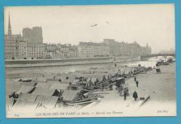 CPA 824 - LES MARCHES DE PARIS - Le Mail - Marché Aux Pommes PARIS IVème - Arrondissement: 04