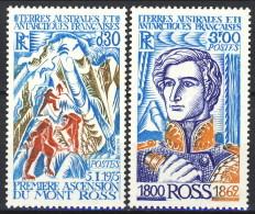 TAAF 1976 Serie N. 61-62 MNH Catalogo € 34 - Terre Australi E Antartiche Francesi (TAAF)