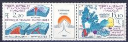 TAAF 1988 Trittico N. 139A MNH Catalogo € 9,20 - Terre Australi E Antartiche Francesi (TAAF)