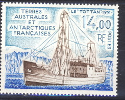 TAAF 1992 N. 169 F. 14 MNH Catalogo € 6,40 - Terre Australi E Antartiche Francesi (TAAF)