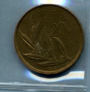 1980 20 FRANCS - 07. 20 Francs