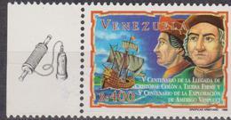 1998 VENEZUELA Colombo Vespucci Congiunta ITALIA MNH JOINT ISSUE ITALY - Emissioni Congiunte