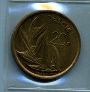 1982 20 FRANCS BELGIE - 07. 20 Francs