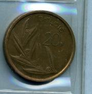 1981 20 FRANCS BELGIE - 07. 20 Francs