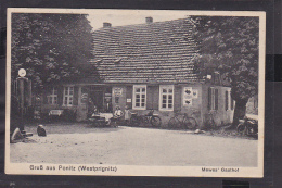 A7x /   Ponitz B. Perleberg / Gasthaus 1933 RAR - Perleberg