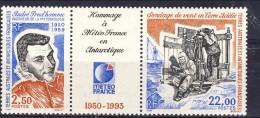 TAAF 1993 Trittico N. 183A MNH Catalogo € 12,50 - Terre Australi E Antartiche Francesi (TAAF)