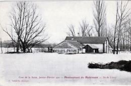 MANTES LA JOLIE,LIMAY, ILE DE LIMAY, RESTAURANT DE ROBINSON, INONDATION - Mantes La Jolie