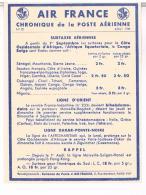 AIR FRANCE  CHRONIQUE  DE LA POSTE  AERIENNE 1938 SURTAXES  AERIENNES   N°22  TBE LL158 - Aérodromes