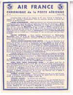 AIR FRANCE  CHRONIQUE  DE LA POSTE  AERIENNE 1938     N°19  TBE LL173 - Aérodromes