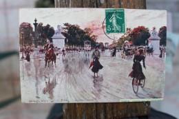 B2  - 75 - PARIS AVENUE DES CHAMPS ELYSEES - ILLUSTRATEUR : Georges STEIN - Champs-Elysées