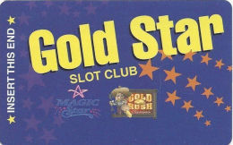 Gold Rush Casino Henderson, NV Slot Card - Brown Box In Logo (BLANK) - Casino Cards