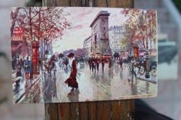 B2  - 75 - PARIS - LA PORTE SAINT DENIS  - ILLUSTRATEUR : Georges STEIN ? - Champs-Elysées