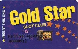 Gold Rush Casino Henderson, NV Slot Card - Black Box In Logo - Casino Cards