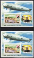 Madagascar - Bloc Feuillet - 1976 - N° Yvert : BF 11 ** - Zeppelin, Dentelé Et Non Dentelé - Madagascar (1960-...)