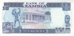 ZAMBIA P. 31b 10 K 1991 UNC - Zambie