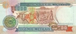 MOZAMBIQUE P. 137 10000 M 1991 UNC - Mozambique