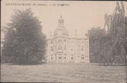 Aalter  Aeltre-Ste-Marie - Le Scherloo - Chateau Kasteel - 1911 Schuerloo Reclame Maison Latour Gand Gent Publicite - Aalter
