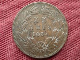 PORTUGAL Monnaie De 20 Reis 1884 - Portugal