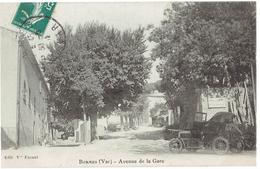 83 BORMES  Avenue De La Gare, Automobile - Bormes-les-Mimosas