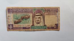 ARABIA SAUDITA 5 RIYAL 1983 - Arabie Saoudite
