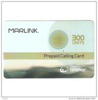 Norway-Marlink 300units Satellite Prepaid Card Exp.date 31/12/2004.mint - Noorwegen