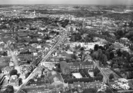 CPSM - ROUBAIX (59) - Vue Aérienne Du Bourg, De La Rue De Lille Et De L'Institution De Ségur En 1950 / 60 - Roubaix