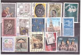 16 FRANCOBOLLI USATI ITALIA - Lots & Kiloware (max. 999 Stück)