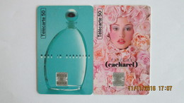 2 TELECARTES CACHAREL - Perfume