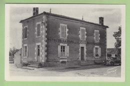 FONTAINES : Hôtel De La Gare Mercier Garnier . 2 Scans. Edition Jehly Poupin - Sonstige Gemeinden